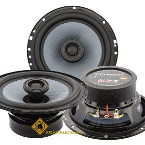 Audio System CO165 EVO – głośniki dwudrożne, średnica 165 mm, impedancja 3 Ohm, moc RMS 2×80 Wat