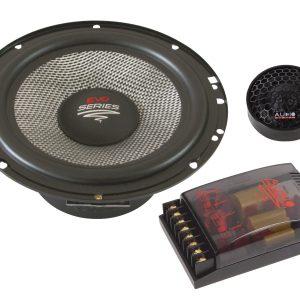 Audio System X 165 EVO – głośniki odseparowane, średnica midbasu 165 mm, 2×100 Wat