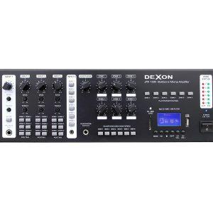Dexon – JPA 1600 – centrala 6 strefowa z odtwarzaczem MP3 – USB/SD i tunerem
