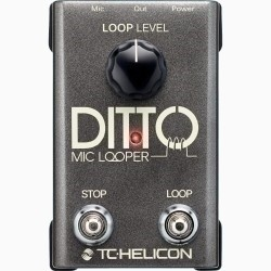 TC Helicon – DITTO MIC LOOPER
