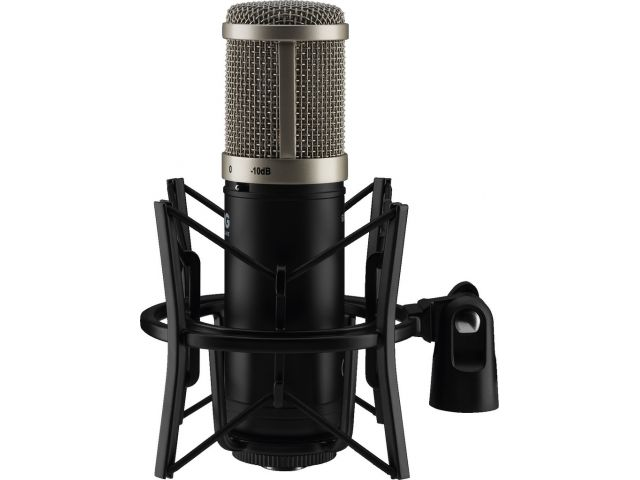 ECMS-90 - Wielkomembranowy mikrofon pojemnościowy