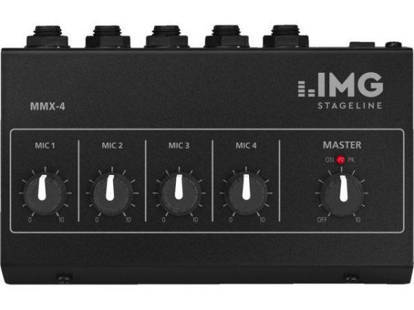 MMX-4 - Miniaturowy mikser mikrofonowy 4-kanałowy
