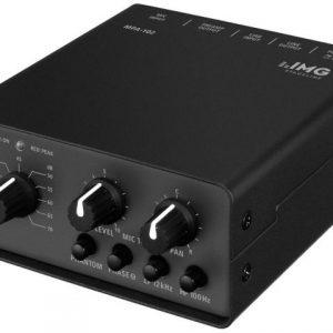 MPA-102 - 1-kanałowy niskoszumny przedwzmacniacz mikrofonowy