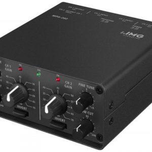 MPA-202 - 2-kanałowy niskoszumny przedwzmacniacz mikrofonowy
