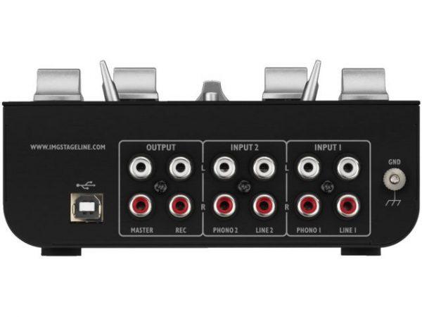 MPX-20USB - 3-kanałowy mikser stereo dla DJ
