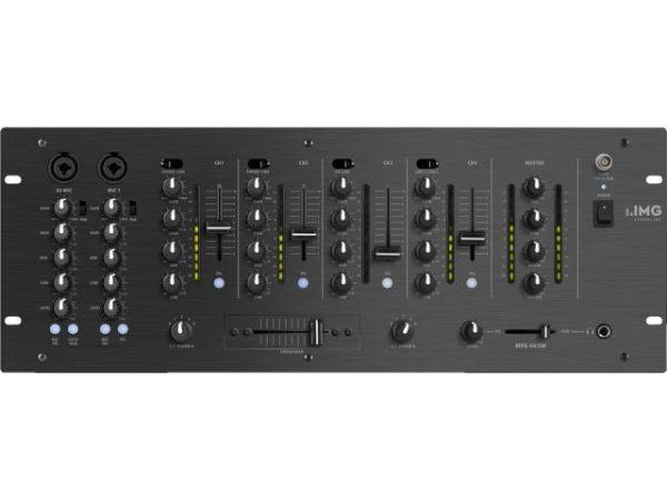 MPX-44/SW - 6-kanałowy mikser stereo dla DJ