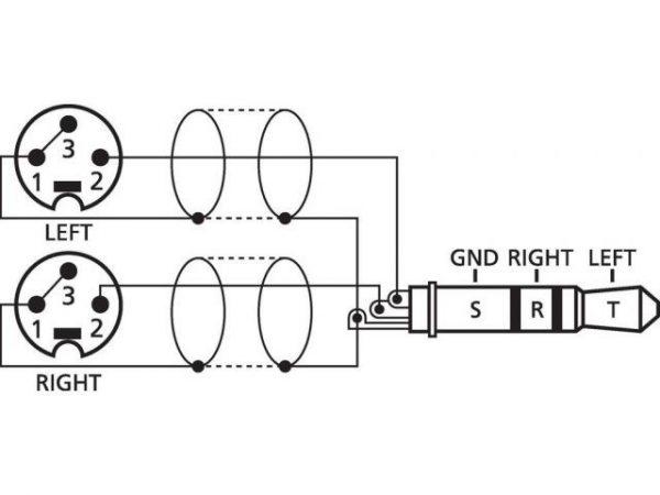 MCA-329P - Kabel połączeniowy audio