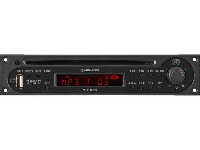PA-1140RCD - Moduł tunera RDS/odtwarzacza CD z interfejsem USB