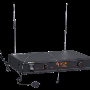 2-kanałowy bezprzewodowy system mikrofonowy VHF2H