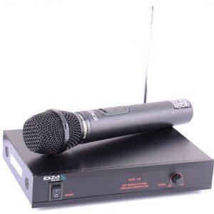 Bezprzewodowy system mikrofonowy VHF SYSTEM 203 MHz